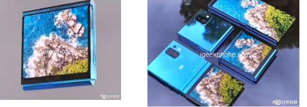 Первый смартфон Xiaomi с гибким дисплеем показали на рендерных изображениях