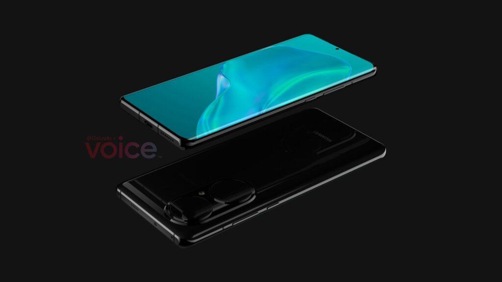 Huawei P50 Pro с огромными камерами показали на изображениях до анонса