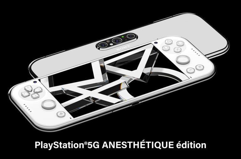 Sony представила концепт смартфона и переносной приставки в одном