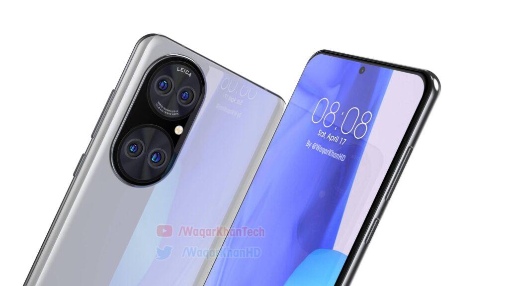 Дизайн флагманского P50 от Huawei показали на новых изображениях и видео