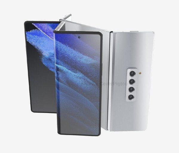 Samsung Galaxy Z Fold 3 получит сгибающийся в двух местах гибкий экран