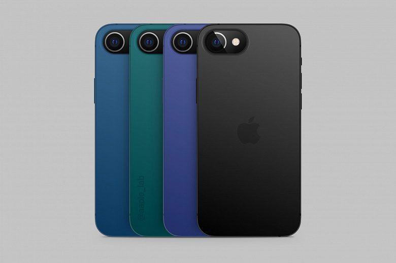 Дизайнер создал первые изображения нового iPhone SE 2022