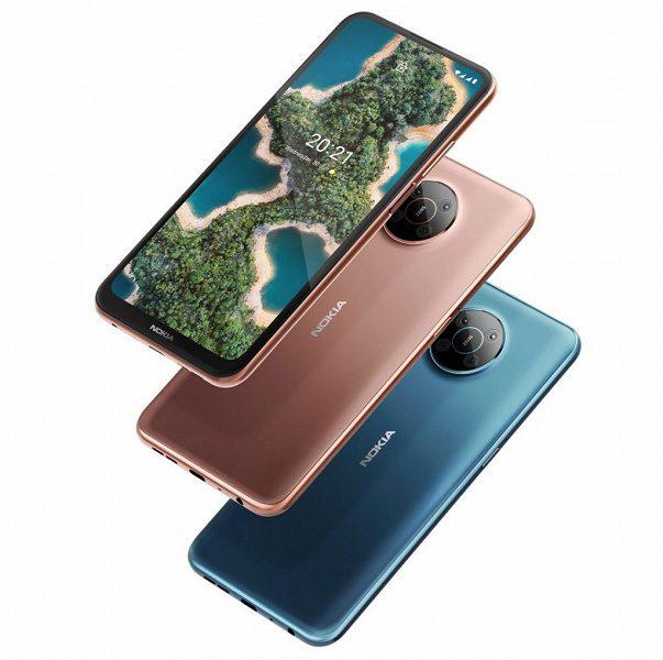 Компания Nokia представила новые 5G-смартфоны Nokia X10 и X20