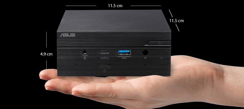 ASUS представила новый мини-ПК PN51 с гибридными процессорами от AMD