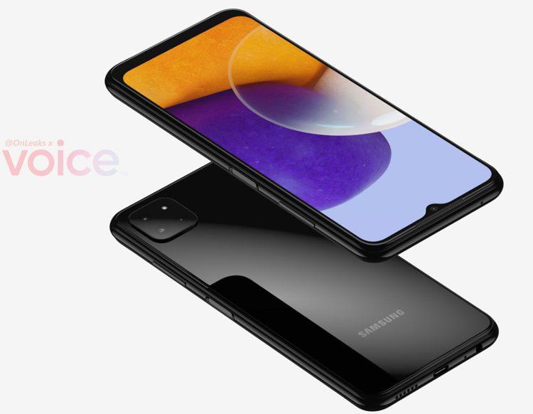 Бюджетный смартфон Samsung Galaxy A22 с 5G показали на первых рендерах
