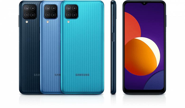 Недорогой смартфон Samsung Galaxy M12 с емкой батареей поступил в продажу в России