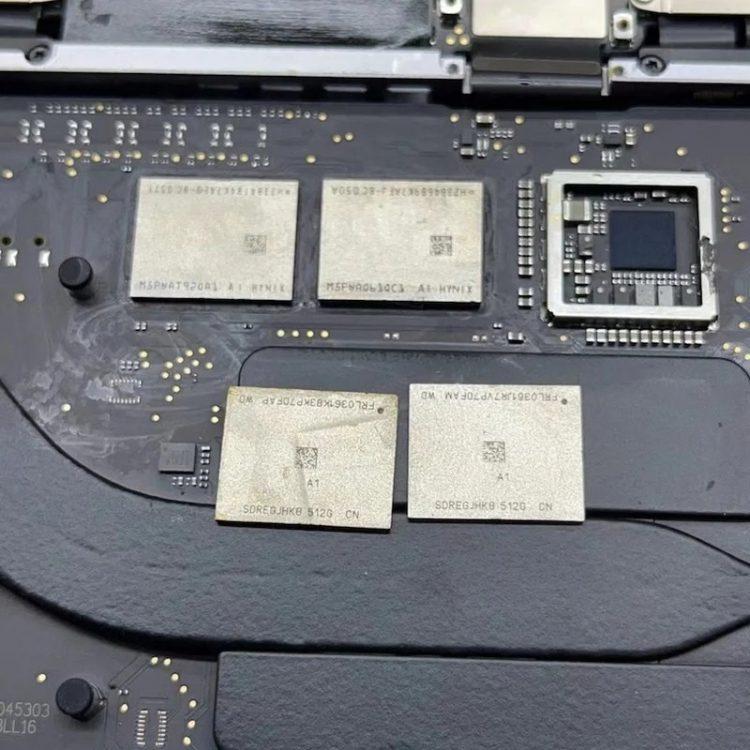 Модули SSD и ОЗУ в новых MacBook с Apple M1 можно заменять на более ёмкие