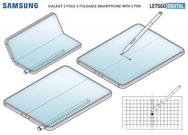 В смартфоне Samsung Galaxy Z Fold 3 не предусмотрели места для стилуса S Pen