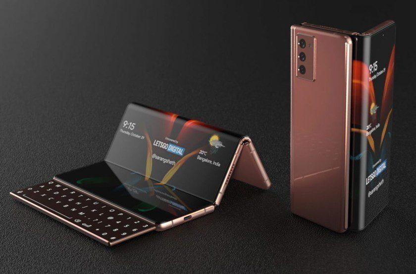 Компания Samsung запатентовала новый тип гибкого смартфона