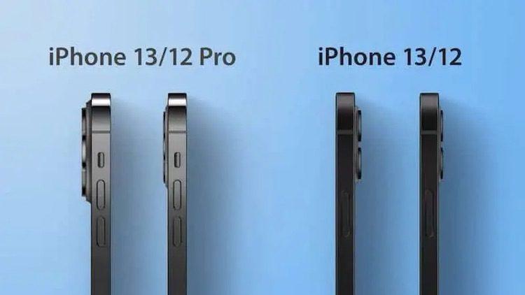 Новые камеры в IPhone 13 сделают смартфоны заметно толще iPhone 12