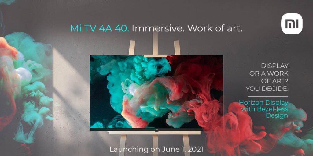 Xiaomi анонсировала 40-дюймовый недорогой телевизор Mi TV 4A 40 Horizon Edition