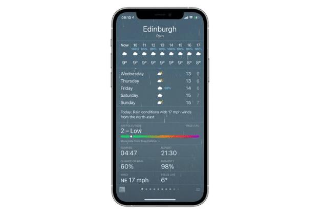 Функция индекса качества воздуха распространяется на большее количество стран в бета-версии iOS 14.7