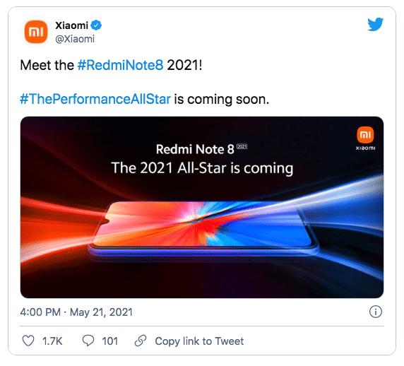 Рассекречен дизайн нового Redmi Note 8 2021 года