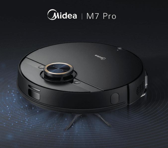 Новый робот-пылесос Midea M7 Pro представлен на AliExpress за 330 долларов