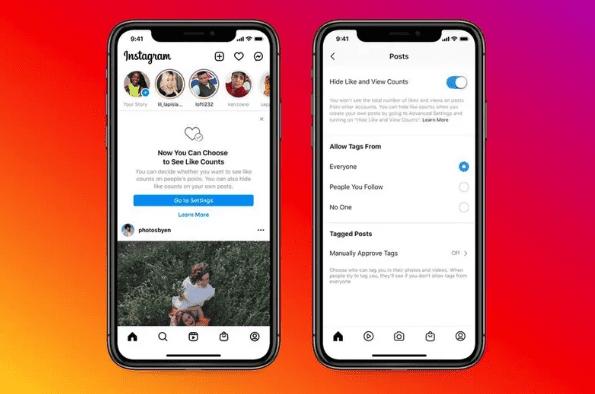Instagram разрешил пользователям скрывать лайки и количество просмотров в постах