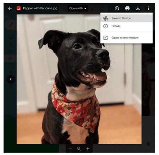 Gmail позволяет пользователям сохранять прикрепленные изображения сразу в Google Фото
