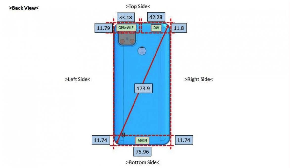 Предстоящая сертификация Realme RMX3261 раскрыла его дизайн