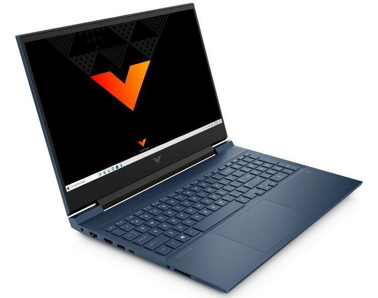 HP представила новый недорогой игровой ноутбук Victus 16 на Intel Tiger Lake-H