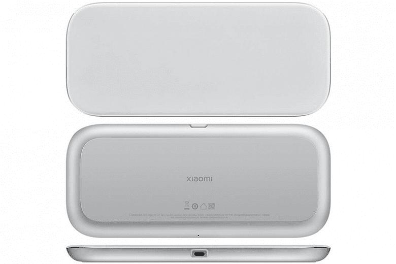 Вышла беспроводная станция от Xiaomi для зарядки трех гаджетов одновременно