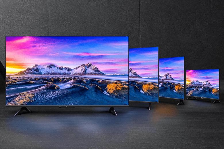 Xiaomi представила недорогие телевизоры Xiaomi Mi TV P1 с поддержкой HDMI 2.1, Dolby Vision и MEMC