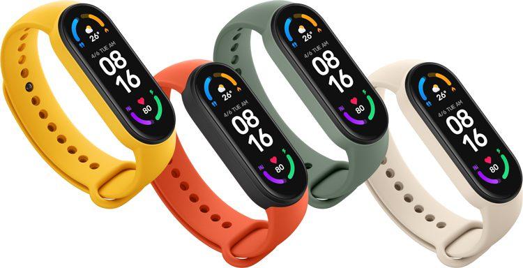 Xiaomi фитнес-браслет Mi Smart Band 6 в России предложила за 3990 рублей
