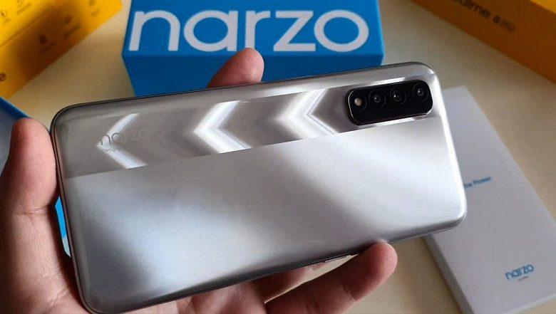 Realme скоро выпустит новый смартфон среднего уровня Realme Narzo 30 4G