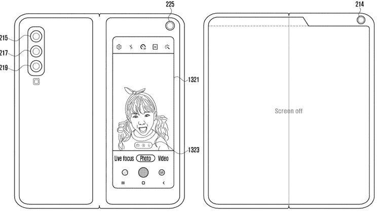 Новый раскладной смартфон от Samsung может получить шесть камер