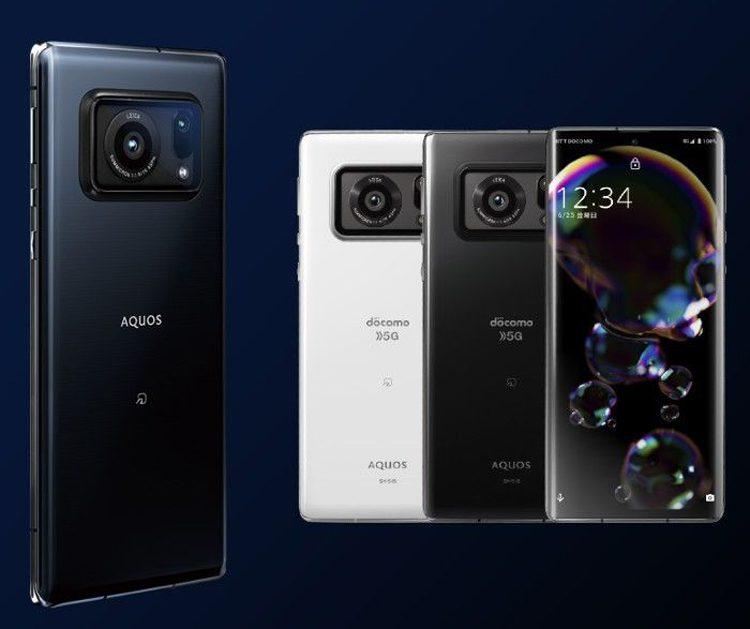 Sharp представила первый в мире смартфон Auqos R6 с самой крупной камерой