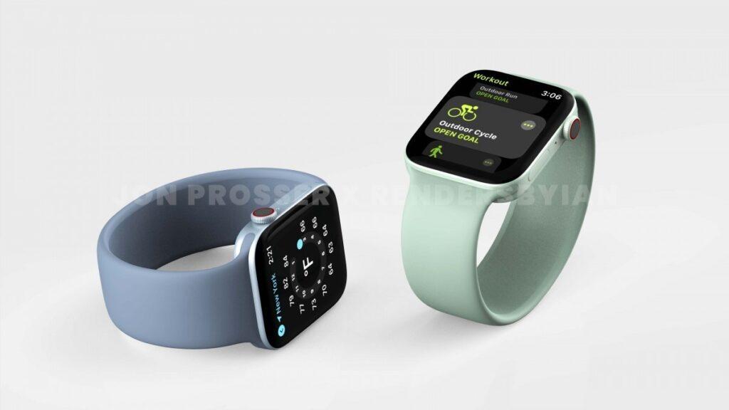 Новые смарт-часы Apple Watch Series 7 получили корпус от iPhone 12