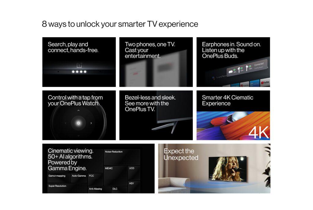 Анонсирована новая линейка умных телевизоров OnePlus TV U1S