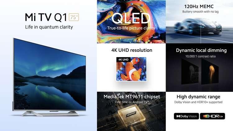 В России появится флагманский телевизор на квантовых точках от Xiaomi