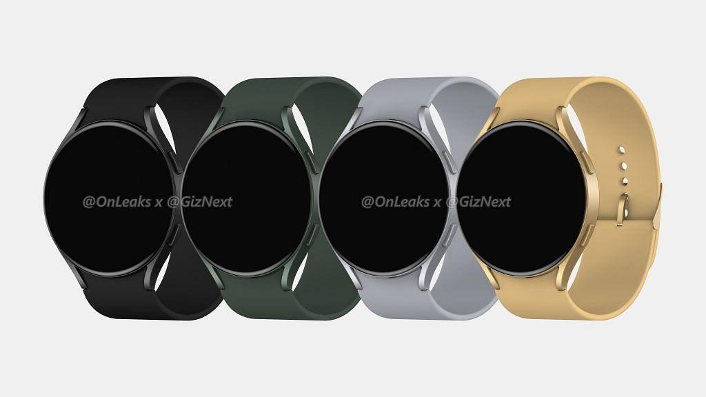 Рендеры позволяют нам заранее взглянуть на Samsung Galaxy Watch Active 4