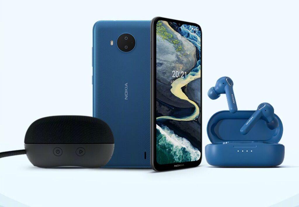 Nokia C20 Plus представлен с Bluetooth-гарнитурой и Bluetooth-динамиком