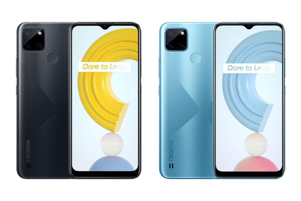 Realme C21Y скоро станет первым телефоном Realme на Android Go