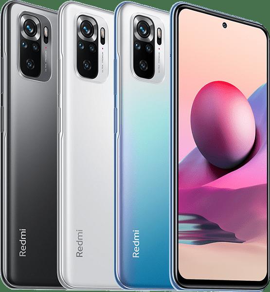 Xiaomi представила в РФ недорогие смартфоны Redmi Note 10T и Note 10S