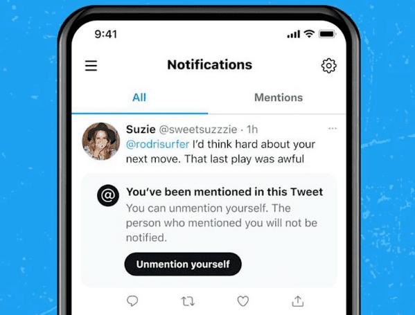 Твиттер может позволить пользователям «не упоминать» себя в твитах