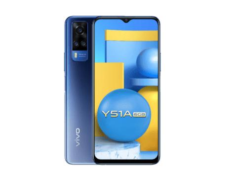 Vivo V51A с 6 ГБ оперативной памяти анонсирован в Индии