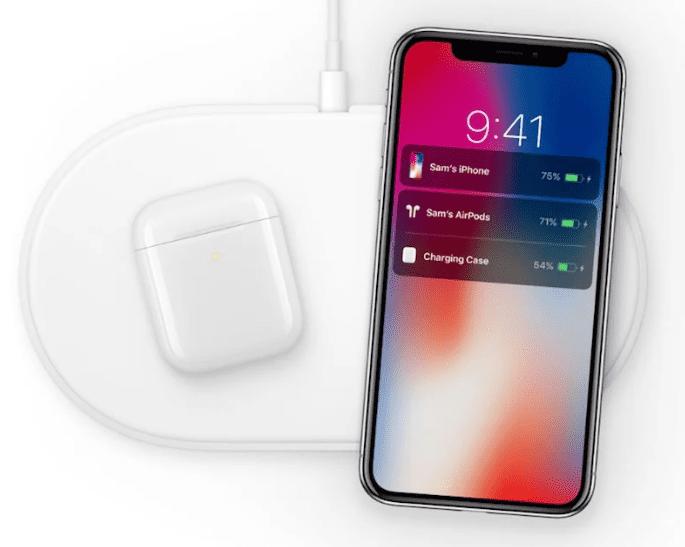 Apple продолжает разработку зарядного устройства типа AirPower