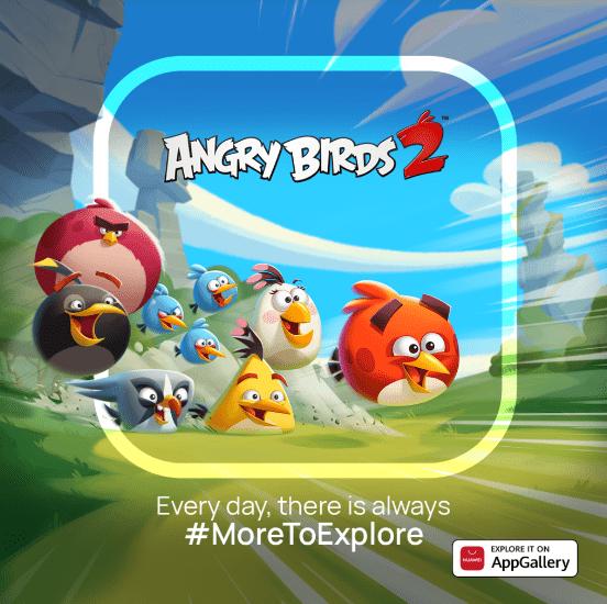 Angry Birds 2 теперь доступна в Huawei AppGallery со специальными предложениями