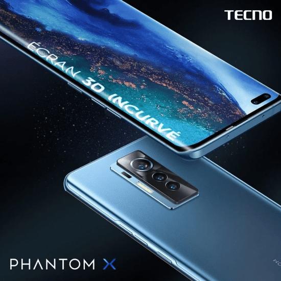 Tecno Phantom X официально подтвержден