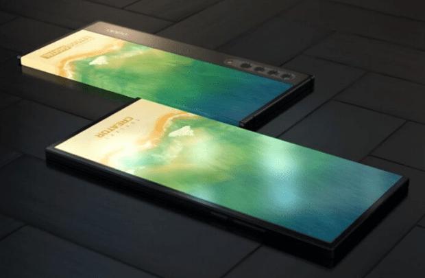 OPPO патентует ультрасовременный двусторонний телефон с круговым дисплеем