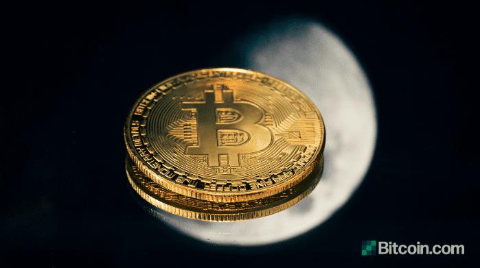 «Биткойн ту зе мун»: Bitmex отправляет биткойн на Луну в буквальном смысле