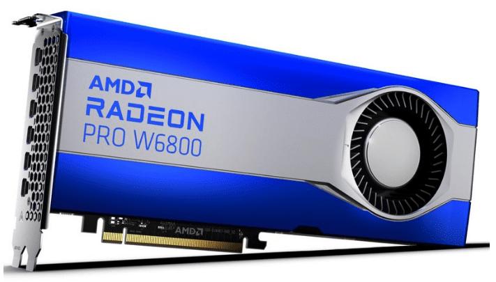 AMD представила быстрые графические карты серии W6000, подходящие для Mac Pro на базе Intel