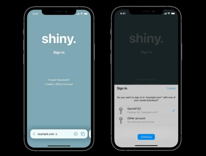 Apple стремится избавиться от паролей с помощью ключей доступа Face ID / Touch ID
