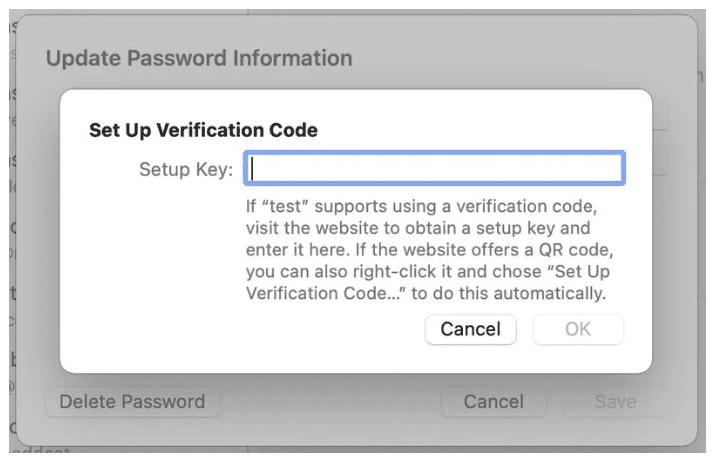 macOS Monterey имеет специальный раздел паролей в системных настройках и встроенный аутентификатор