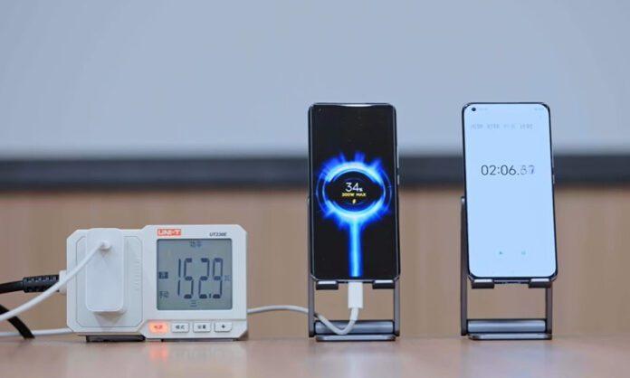 Исследователи разрабатывают зарядку, которая сможет зарядить устройство от 0 до 100% за 5 минут