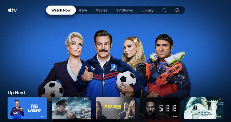 Приложение Apple TV теперь доступно на ОС Android TV