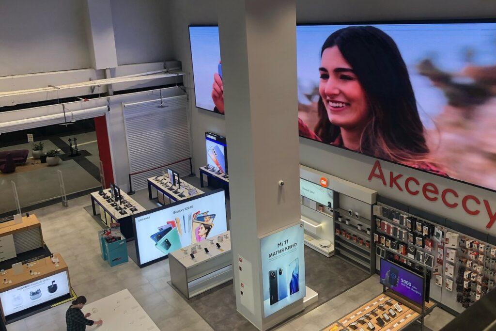 «М.Видео» открыла первый в России магазин с управлением со смартфона