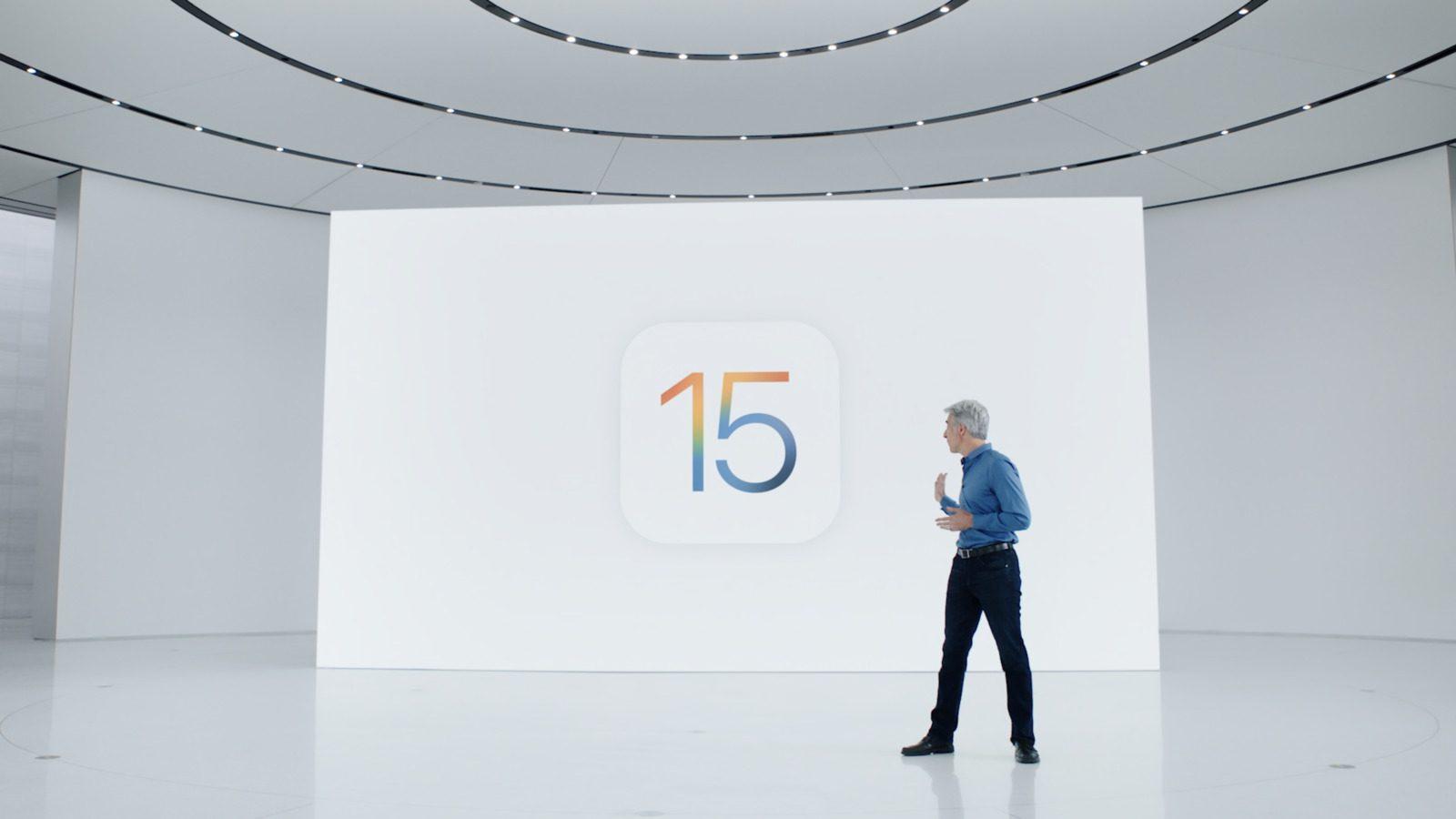 Apple представляет iOS 15