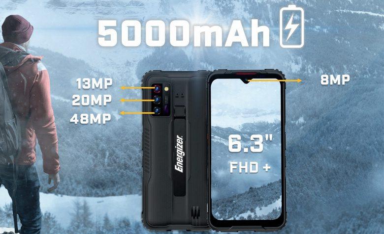 Защищенный смартфон Energizer Hard Case G5 с 5G оценили в 600 долларов